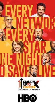 Stand Up To Cancer (2018)