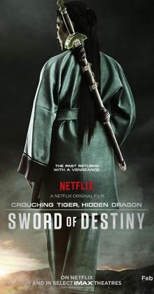 Crouching Tiger Hidden Dragon Sword of Destiny (2016)