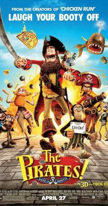 The Pirates In An Adventure With Scientists (2012)