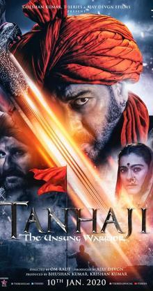 Tanhaji The Unsung Warrior-(2020)