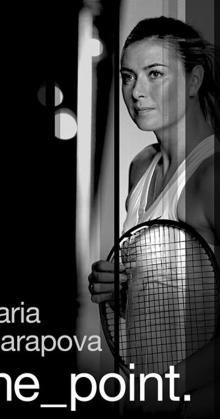 maria sharapova the point (2017)
