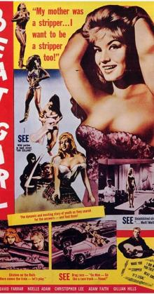 Wild for Kicks Beat Girl (1960)