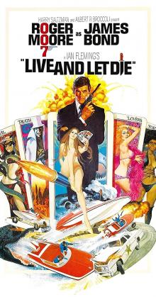 Live And Let Die james Bond 007 (1973)