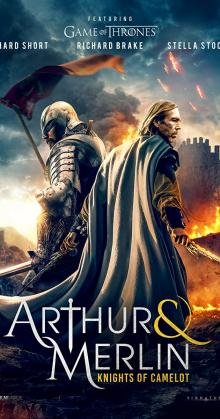 Arthur and Merlin Knights of Camelot (2020)