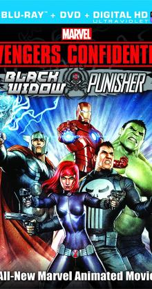 Avengers Confidential Black Widow Punisher (2014)