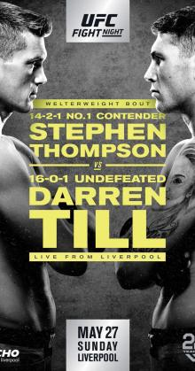 UFC Fight Night Thompson vs Till (2018)