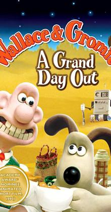 Wallace and Gromit A Grand Day Out (1989)