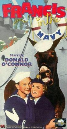 Francis in the Navy (1955)
