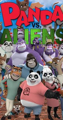 Panda vs Aliens (2021)