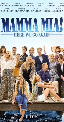 Mamma Mia! Here We Go Again (2018) cam