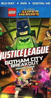 Lego DC Comics Superheroes Justice League Gotham City Breakout (2016)