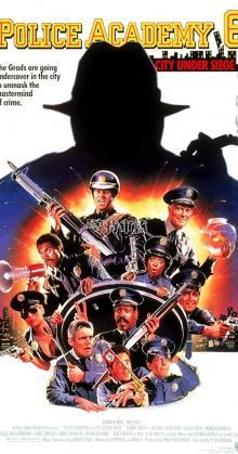 Police Academy 6 City Under Siege (1989)