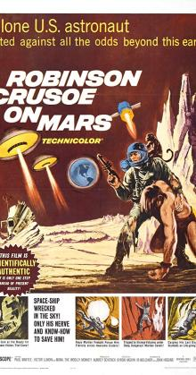 Robinson Crusoe On Mars (1964)