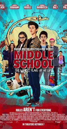 Middle School The Worst Years Of My Life (2016)
