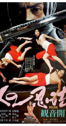 Kunoichi Ninpo Kannon Biraki (1976)