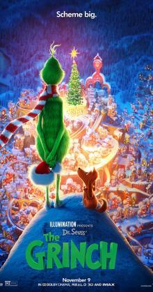 Dr Seuss The Grinch (2018) CAM
