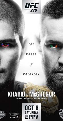 UFC 229 Khabib vs McGregor (2018)