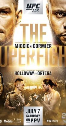 UFC 226 Miocic vs Cormier (2018)